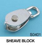 "1"" Stainless Steel Swivel Block"