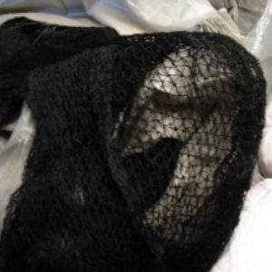 #18 Black Nylon Netting